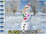 Игра Сделай снеговика онлайн