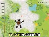 Игра Овечка-парашютист онлайн
