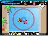 Игра Сумо в бассейне с монстрами онлайн