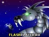 Игра Космический червь онлайн
