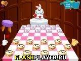 Игра Алиса в Стране чудес и шашки онлайн