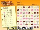 Игра Пончики в ряд онлайн