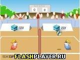 Игра Червячный волейбол онлайн