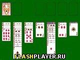 Игра Пасьянс косынка онлайн