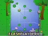 Игра Прыжки по лилиям онлайн