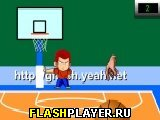 Игра Баскетбол с подвижной корзиной онлайн
