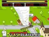 Игра Разрушительное торнадо онлайн
