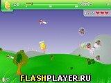 Игра Летающее яйцо онлайн