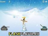 Игра Дуэль на снежках онлайн