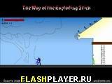Игра Путь взрывающегося Стикмэна онлайн