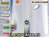 Игра Гонщики по зимним дорогам онлайн