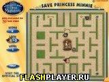 Игра Спаси принцессу Минни онлайн