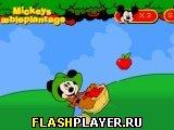 Игра Яблочная плантация Микки онлайн