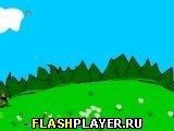 Игра Веселый лесник или стрельба по тарелкам онлайн