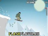 Спуск на сноуборде 2