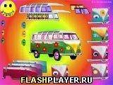 Игра Укрась хиппи-фургон онлайн