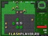 Игра Защитный башни от зомби онлайн