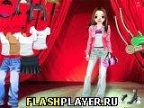 Игра Сценическая девушка онлайн