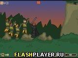 Рыцарь и скауты с палками 2