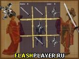 Игра Крестики-нолики ниндзя онлайн