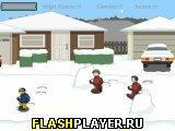 Сноублиц: играем в снежки