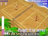 Игра Теннис на пляже онлайн
