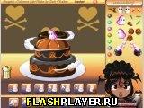 Игра Шакита готовит хэллоуинский пирог онлайн