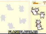 Игра Кошачий пазл онлайн