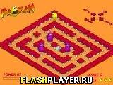 Игра Пакман 3д онлайн
