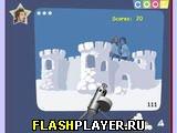 Игра ЗАМОЧИ СНЕЖКАМИ ЗВЕЗД онлайн