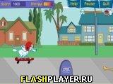 Игра Пафф на скейте онлайн