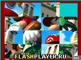 Игра Марио пятнашки онлайн