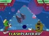 Игра Космический боулинг Марвина онлайн