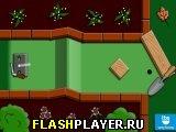 Игра Мини-гольф на заднем дворе онлайн