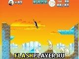 Игра Сумасшедшая пингвинья катапульта онлайн