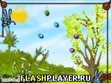 Игра Кролик, поймай эти яйца! онлайн