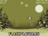 Игра Мистер Мотбол и снежные хлопья! онлайн