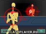 Лазерный меч: роботы атакуют