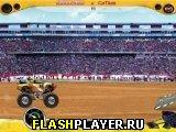 Игра Прыгающий гонщик онлайн