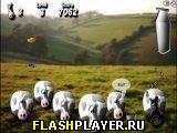 Игра Молочный кризис! Время взрывать коров! онлайн