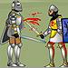 играть в битва рыцарей онлайн