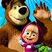 играть в Маша и Медведь онлайн