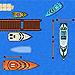 играть в парковка лодки онлайн