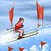 играть в лыжи онлайн