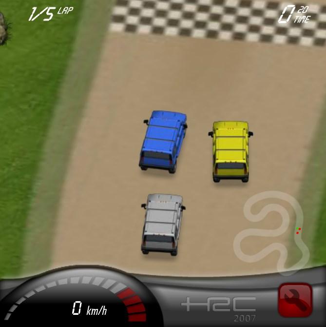 Игры гонки на двоих