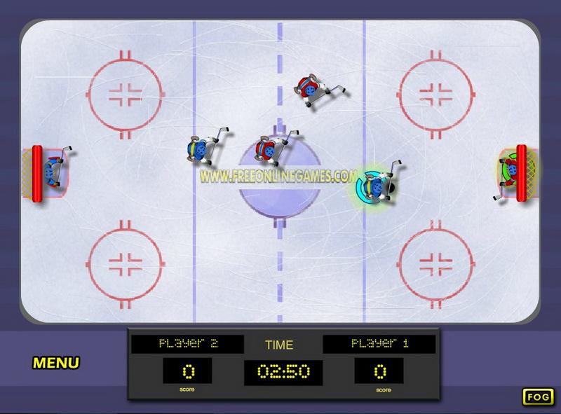 Игры хоккей на двоих
