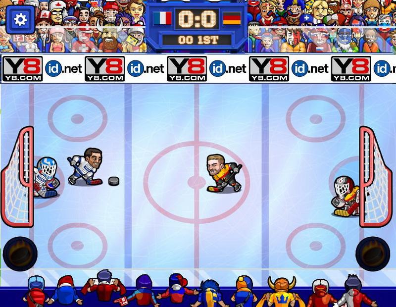 Флеш игры хоккей на двоих