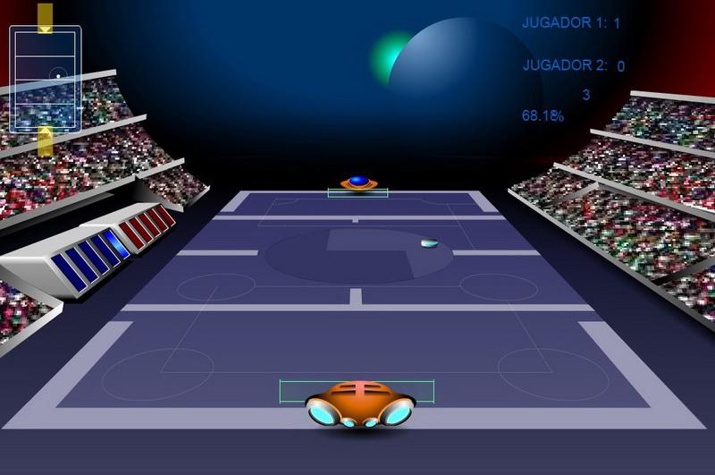 Играть в теннис на двоих