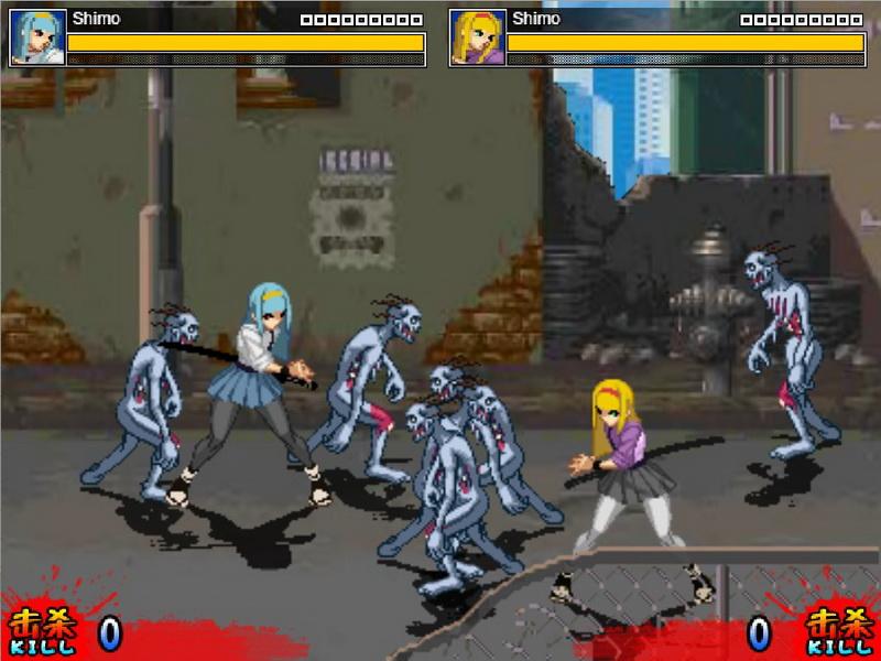 Игры зомби на двоих