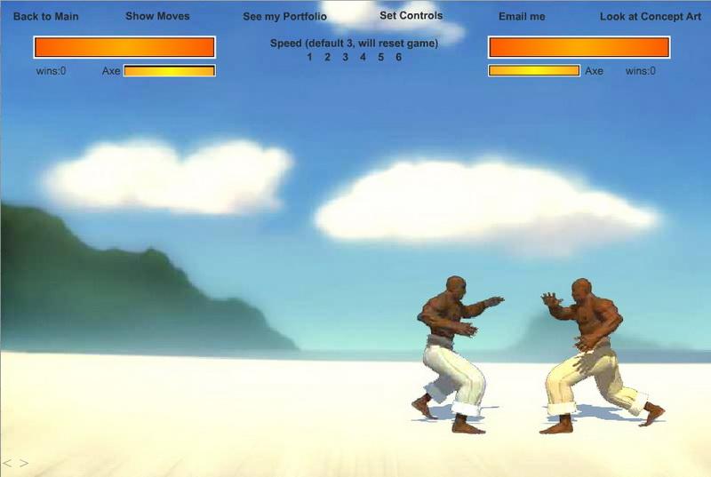 Флеш игры 3Д драки
